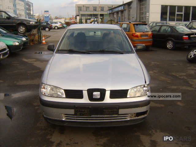 2001 seat ibiza 1 9 sdi diesel stella klimatronic car photo and specs. Black Bedroom Furniture Sets. Home Design Ideas