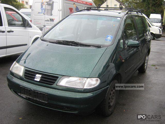 1998 Seat  Alhambra 1.9 TDI 5-seater air-FIXED PRICE Van / Minibus Used vehicle photo