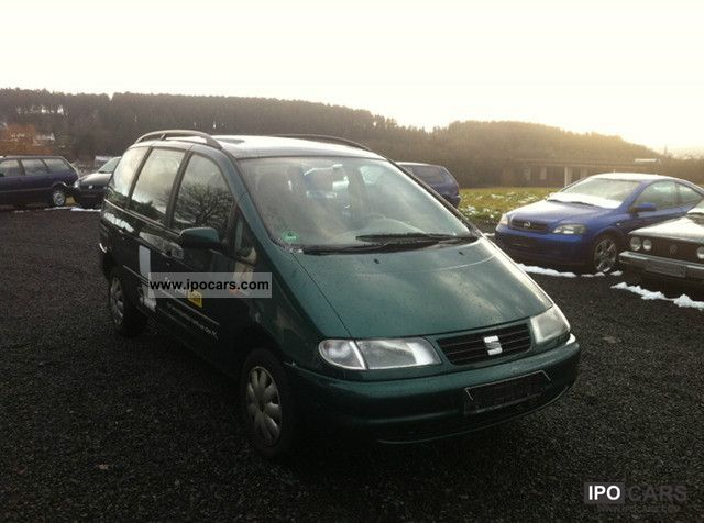 1998 Seat  Alhambra 2.0i, air conditioning, El.Fenster, from 1.Hand Van / Minibus Used vehicle photo