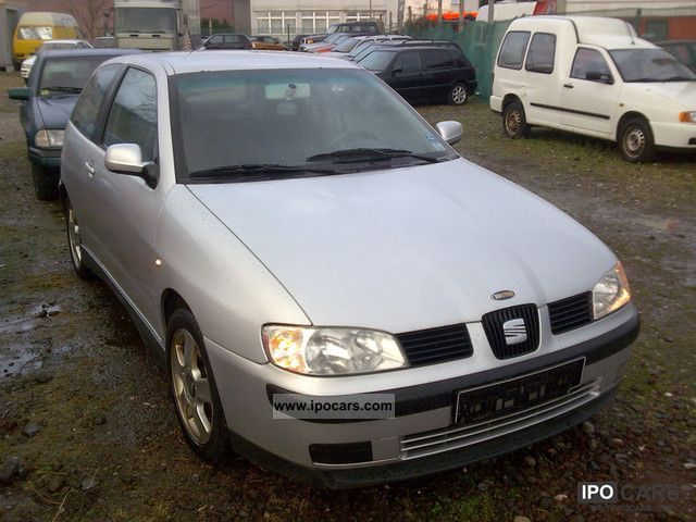 2001 seat ibiza 1 9 tdi sport car photo and specs. Black Bedroom Furniture Sets. Home Design Ideas