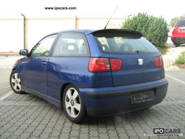 2000 seat ibiza 1 9 tdi cupra sport klimaaut rims car photo and specs. Black Bedroom Furniture Sets. Home Design Ideas