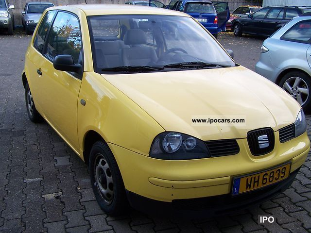 2002 seat select arosa 1 0 car photo and specs. Black Bedroom Furniture Sets. Home Design Ideas