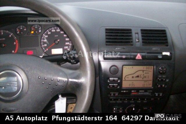 2000 seat cordoba signo 1 9 tdi 1750th export car for Interieur seat cordoba 2000