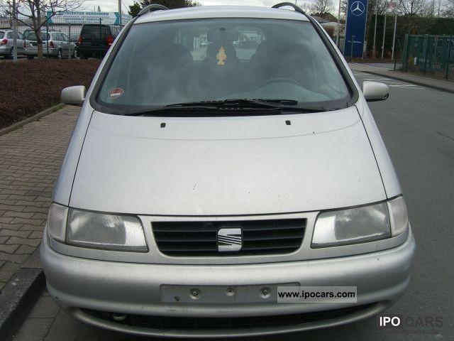 1999 Seat  Alhambra 1.9 TDI 110 hp Van / Minibus Used vehicle photo