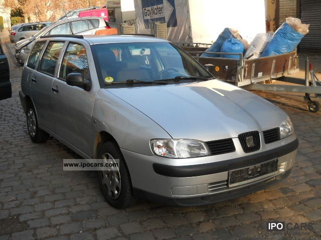 2001 seat cordoba vario 1 9 tdi signo car photo and specs. Black Bedroom Furniture Sets. Home Design Ideas