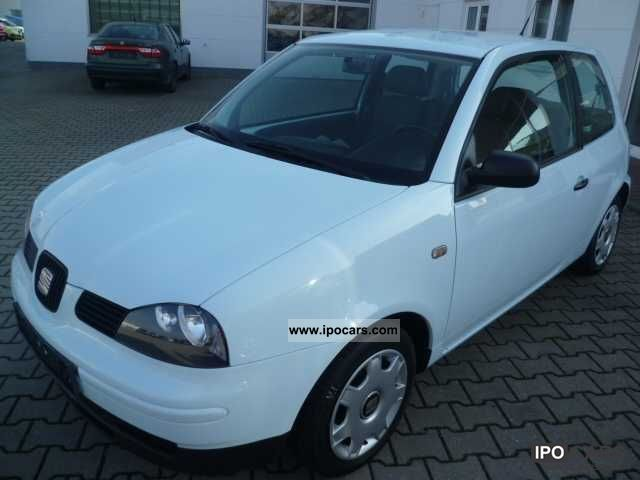 2002 seat arosa 1 0 car photo and specs. Black Bedroom Furniture Sets. Home Design Ideas