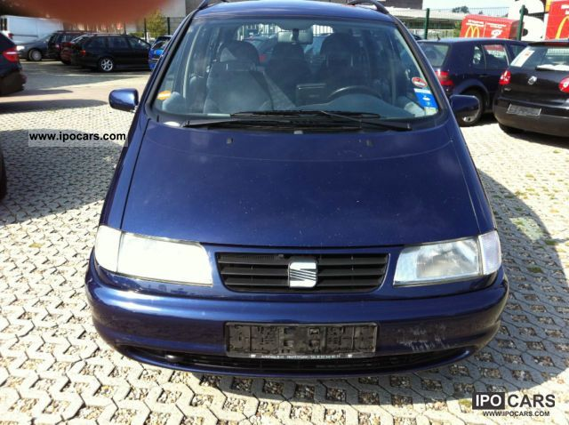 1998 Seat Alhambra 1 9 Tdi Car Photo And Specs