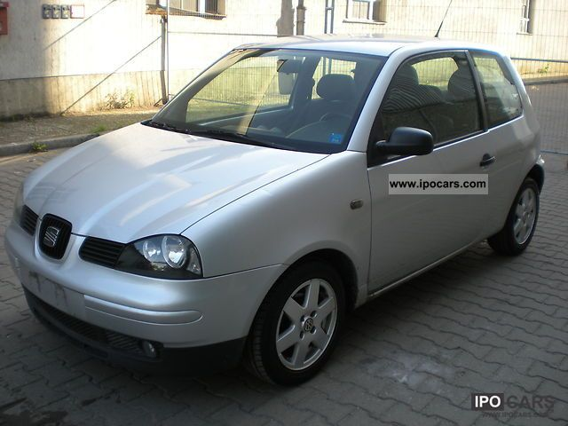 2003 seat arosa 1 0 car photo and specs. Black Bedroom Furniture Sets. Home Design Ideas