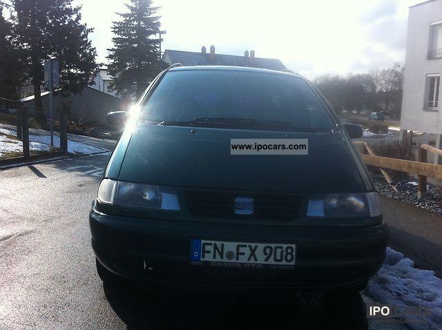 1999 Seat  Alhambra 1.9 TDI Comfortline Van / Minibus Used vehicle (business photo