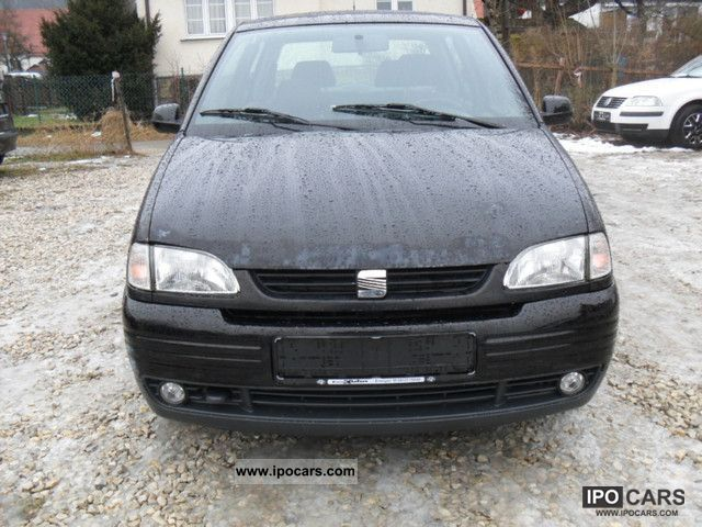 1999 seat arosa 1 0 emissions inspection new car photo and specs. Black Bedroom Furniture Sets. Home Design Ideas