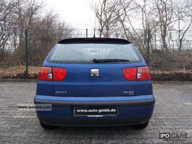 2001 seat ibiza iii 1 9 air glass schiebe hebedach sdi car photo and specs. Black Bedroom Furniture Sets. Home Design Ideas