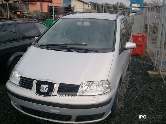 Seat  Alhambra 1.8 20V Turbo Sport LPG AHK RHD 2000 Liquefied Petroleum Gas Cars (LPG, GPL, propane) photo