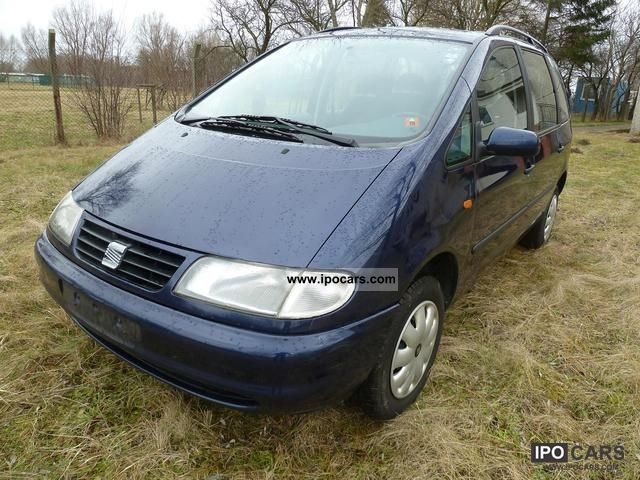 2000 Seat  Alhambra 2.0 Frosted 8x 7-seater! Van / Minibus Used vehicle photo