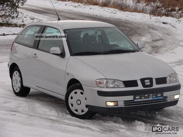 2001 seat ibiza 16v climatronic car photo and specs. Black Bedroom Furniture Sets. Home Design Ideas