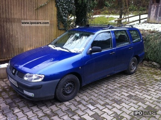 2001 seat cordoba vario 1 4 16v car photo and specs. Black Bedroom Furniture Sets. Home Design Ideas