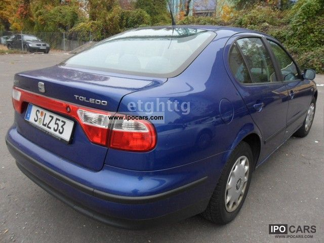 2000 seat toledo 1 8 20v automatic air car photo and specs. Black Bedroom Furniture Sets. Home Design Ideas