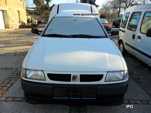 Seat  Inca Pro 1.4 MPI - gas drive! 1999 Liquefied Petroleum Gas Cars (LPG, GPL, propane) photo