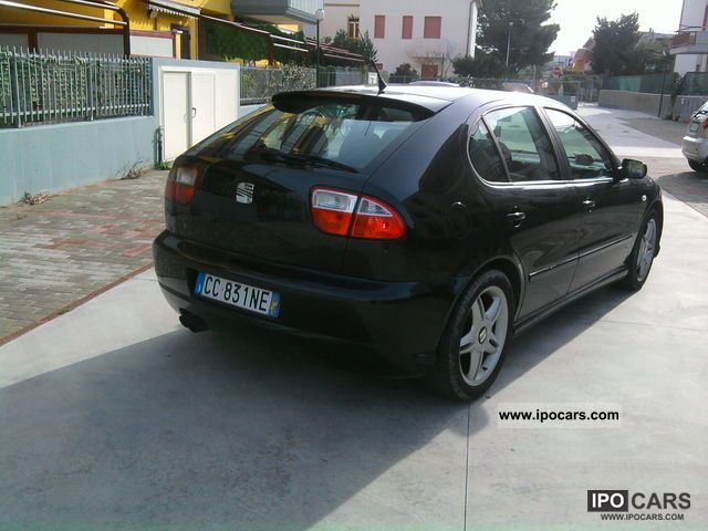 2002 seat leon car photo and specs. Black Bedroom Furniture Sets. Home Design Ideas