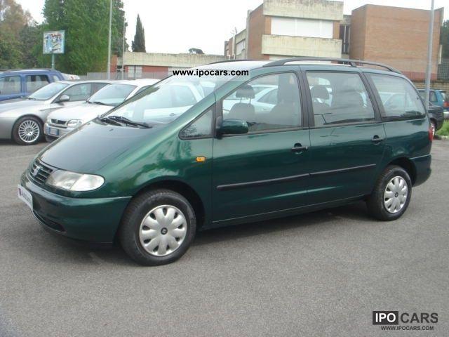 1998 Seat  Alhambra 1900 TD-90CV-7p-CLIMATE-CD STEREO Km11500 Van / Minibus Used vehicle photo
