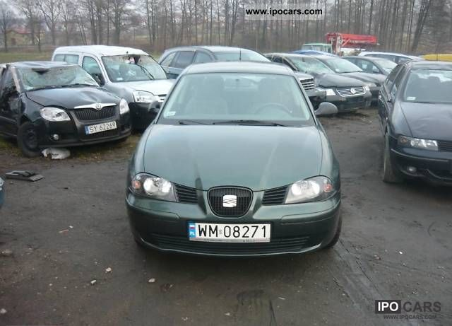 2004 Seat  Ibiza 5 drzwi nowy model salon zadba Small Car Used vehicle photo