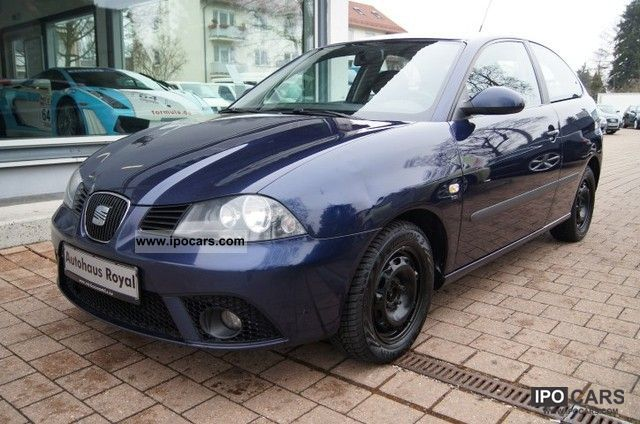 2007 seat ibiza 1 9 tdi comfort edition climate control car photo and specs. Black Bedroom Furniture Sets. Home Design Ideas