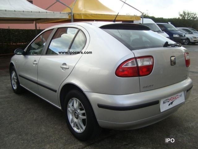2004 seat leon 1 9 tdi 110cv 5p signo car photo and specs. Black Bedroom Furniture Sets. Home Design Ideas