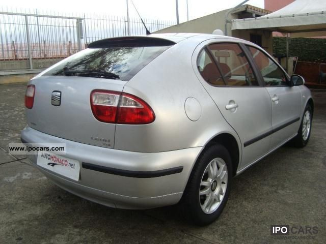 2004 seat leon 1 9 tdi 110cv 5p signo car photo and specs. Black Bedroom Furniture Sets. Home Design Ideas