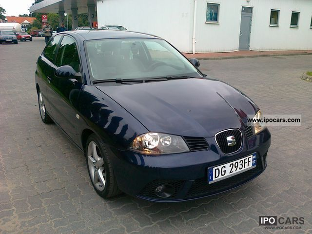 2007 seat ibiza 1 4 16v car photo and specs. Black Bedroom Furniture Sets. Home Design Ideas