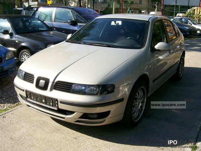 2003 seat leon 1 6 stylance climate model 2004 car photo and specs. Black Bedroom Furniture Sets. Home Design Ideas