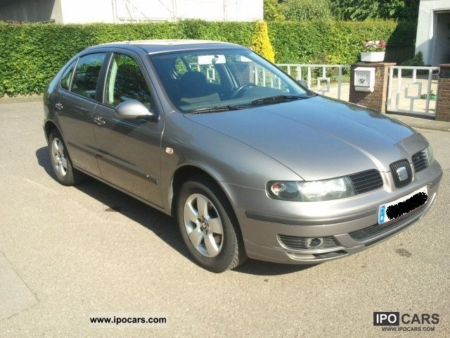 2005 seat leon 1 9 tdi signo car photo and specs. Black Bedroom Furniture Sets. Home Design Ideas