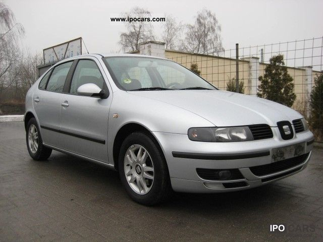 2005 seat leon 1 9 tdi stella 1 hand scheckheft car photo and specs. Black Bedroom Furniture Sets. Home Design Ideas
