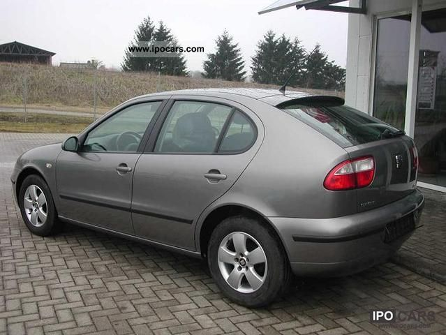 2004 seat leon 1 9 tdi magma rims klimaautom car photo and specs. Black Bedroom Furniture Sets. Home Design Ideas