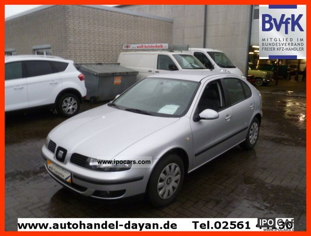 2004 seat leon 1 8 petrol automatic car photo and specs. Black Bedroom Furniture Sets. Home Design Ideas