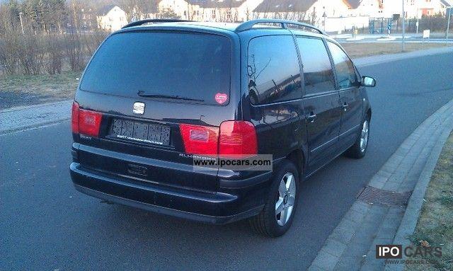 2005 seat alhambra 1 8 20v turbo automatic sport edition. Black Bedroom Furniture Sets. Home Design Ideas