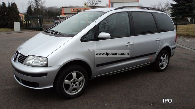 2005 Seat  Alhambra 1.9 TD Van / Minibus Used vehicle photo