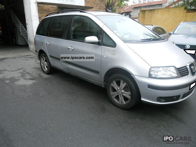 2008 Seat  ALHAMBRA 1.9 Stylance TDI115 TIPTRONIC Van / Minibus Used vehicle photo