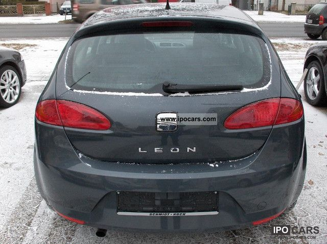2006 seat leon 1 9 tdi dpf 4 air car photo and specs. Black Bedroom Furniture Sets. Home Design Ideas