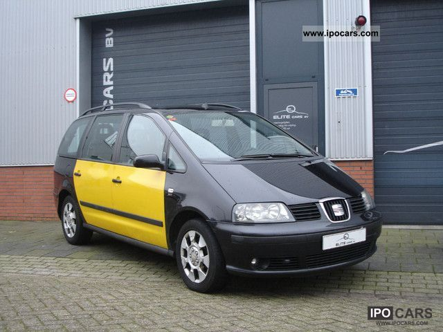 2007 Seat  Alhambra 2.0 TDI Reference AIR 7ZITS 2007 Van / Minibus Used vehicle photo