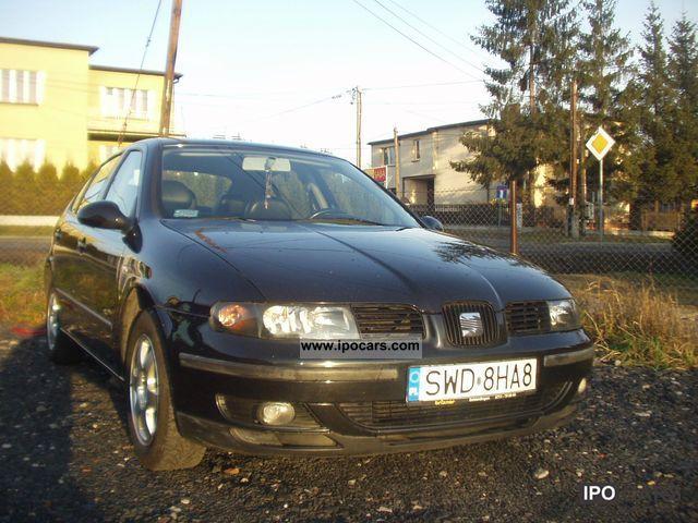 2004 Seat  1.9TDI 110HP climate control KS. SERWISOWA Sports car/Coupe Used vehicle photo