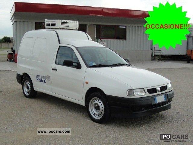 2000 Seat Inca Van Isotermico Con Frigo Car Photo And Specs