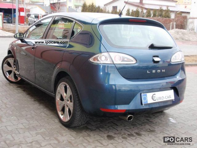 2006 seat leon reference 94 km tys serwis car photo and specs. Black Bedroom Furniture Sets. Home Design Ideas