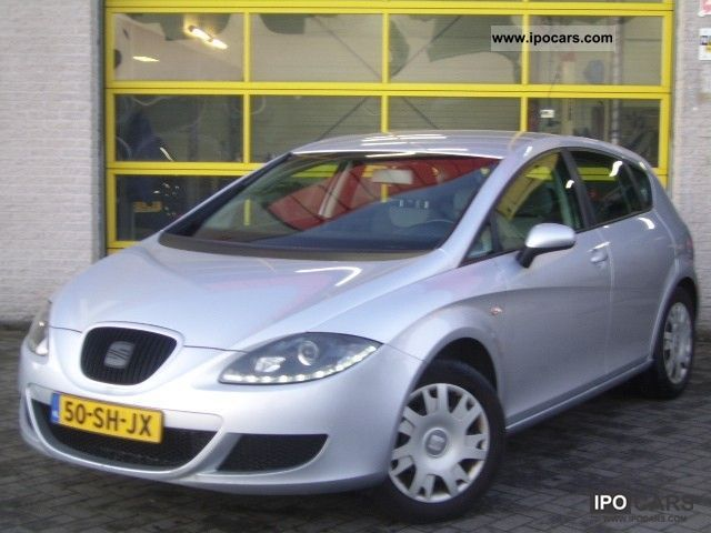 Seat  Leon 1.6 5drs. LPG G3 Reference bj 2006, airco, 2006 Liquefied Petroleum Gas Cars (LPG, GPL, propane) photo