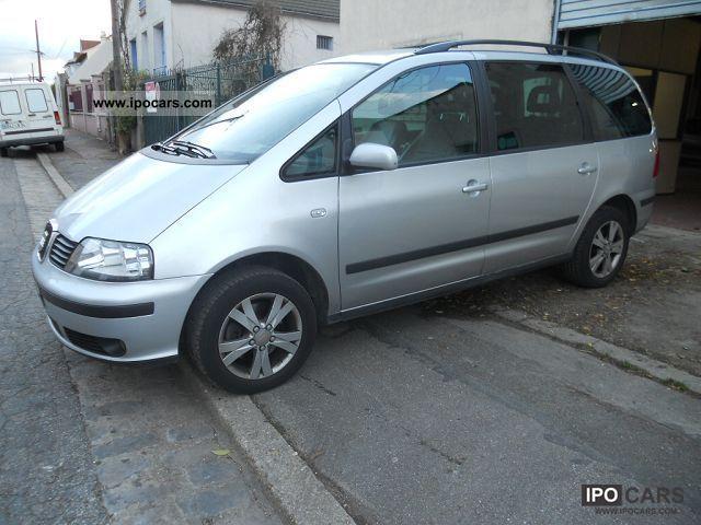 2008 Seat  ALHAMBRA 1.9 TDI115 PULSION 5PL Van / Minibus Used vehicle photo