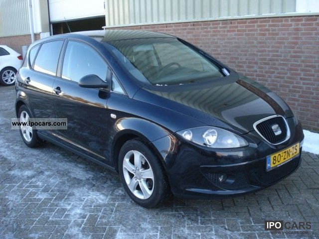 2008 seat altea 1 9 tdi 105pk 25 edition i car photo and specs. Black Bedroom Furniture Sets. Home Design Ideas