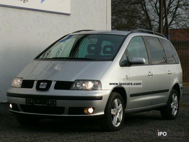 2007 Seat  Alhambra 2.0 TDI DPF Vigo 1.Hand AHK Cruise Van / Minibus Used vehicle photo
