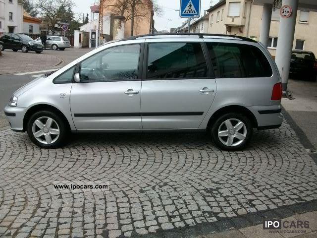 2006 Seat  Alhambra 1.8 20V Turbo, 7 seats ,6-speed, Klimaautom Van / Minibus Used vehicle photo