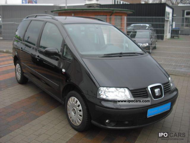 2007 Seat  Alhambra 2.0 TDI DPF Vigo climate, Sitzheiz, PDC, aluminum Van / Minibus Used vehicle photo