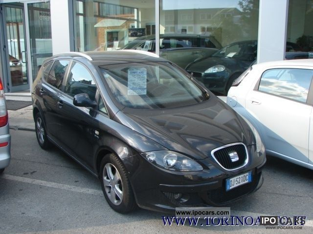 Seat  Altea 1.6 Stylance Dual \ 2007 Liquefied Petroleum Gas Cars (LPG, GPL, propane) photo