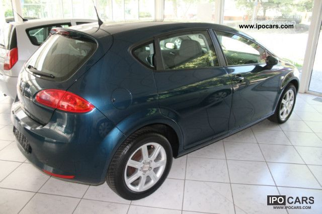 2007 seat leon 1 6 stylance car photo and specs. Black Bedroom Furniture Sets. Home Design Ideas