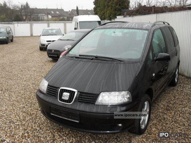 2006 Seat  Alhambra 1.9 TDI - 1.Hand / APC / automatic Van / Minibus Used vehicle photo